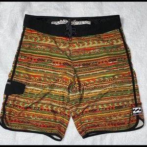 Billabong platinum stretch board shorts